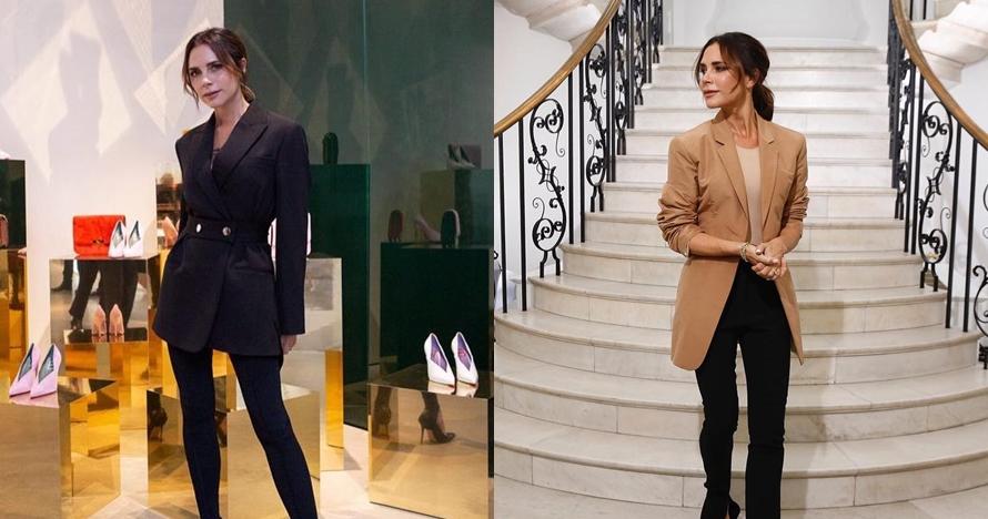 10 Gaya fashion Victoria Beckham ini cocok untuk kerja kantoran