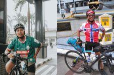 Dukung PSS Sleman di Bogor, suporter ini gowes sepeda 550 KM