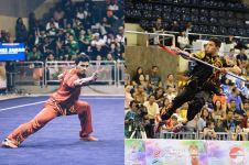 11 Potret Achmad Hulaefi saat di arena wushu, macho abis