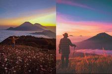 10 Gunung di Indonesia ini larang pendaki bawa tisu basah