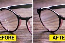 11 Benda sehari-hari ini ampuh atasi goresan di lensa kacamata