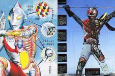13 Superhero Jepang ini bikin kamu langsung rindu era 90-an