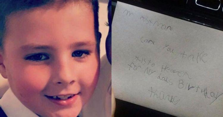 Kirim surat mendiang ayah, bocah ini dapat balasan tak terduga
