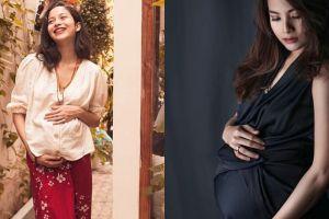 10 Inspirasi gaya busana saat hamil ala seleb Indonesia, bisa ditiru