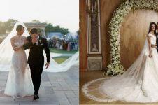 Priyanka Chopra & 6 seleb dunia ini pakai gaun pengantin mewah