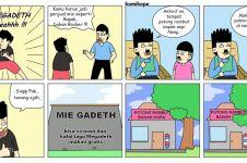 13 Komik strip lucu kehidupan bapak dan anak ini konyol abis