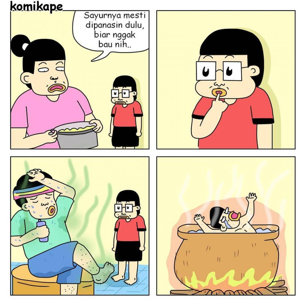 komik bapak anak © 2018 berbagai sumber