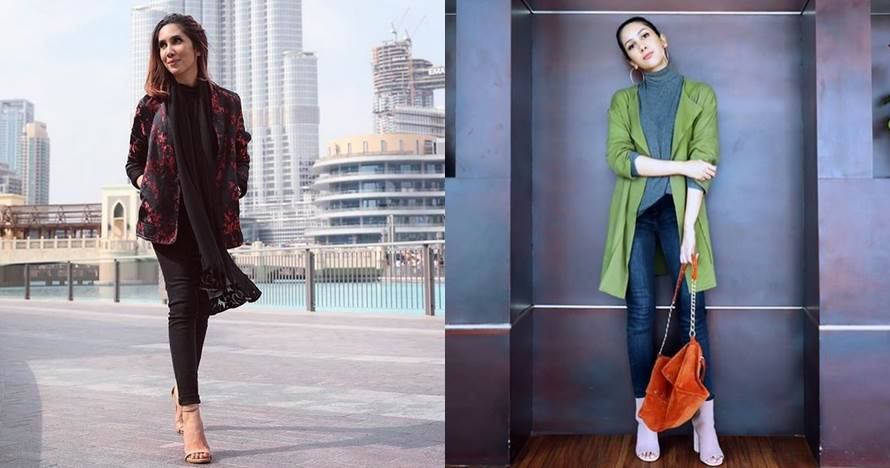 9 Inspirasi busana kasual Suhay Salim, cocok buat hangout