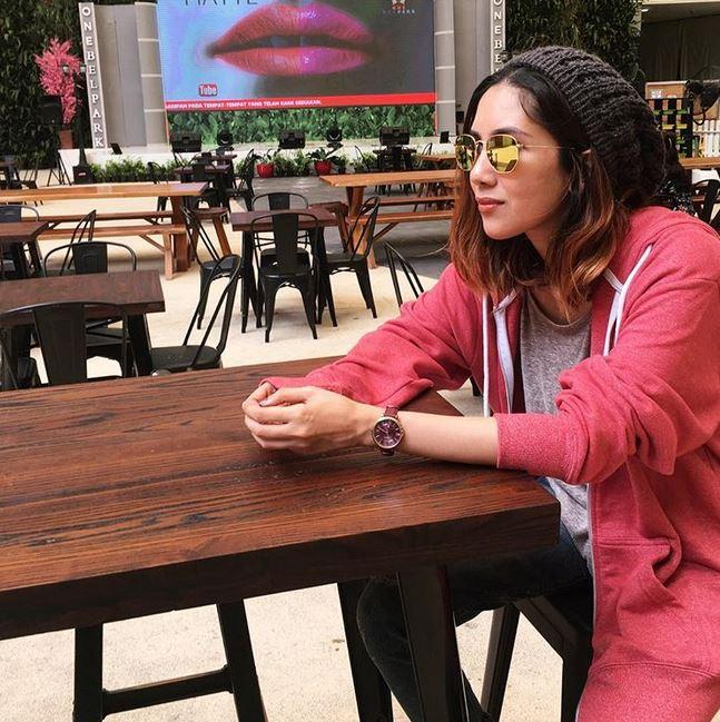 gaya kasual Suhay Salim instagram