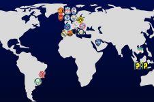 20 Klub bola dunia viewers YouTube terbanyak, dua dari Indonesia