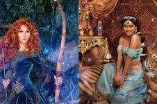 13 Gaya seleb pemotretan ala putri Disney, Inul Daratista manglingi