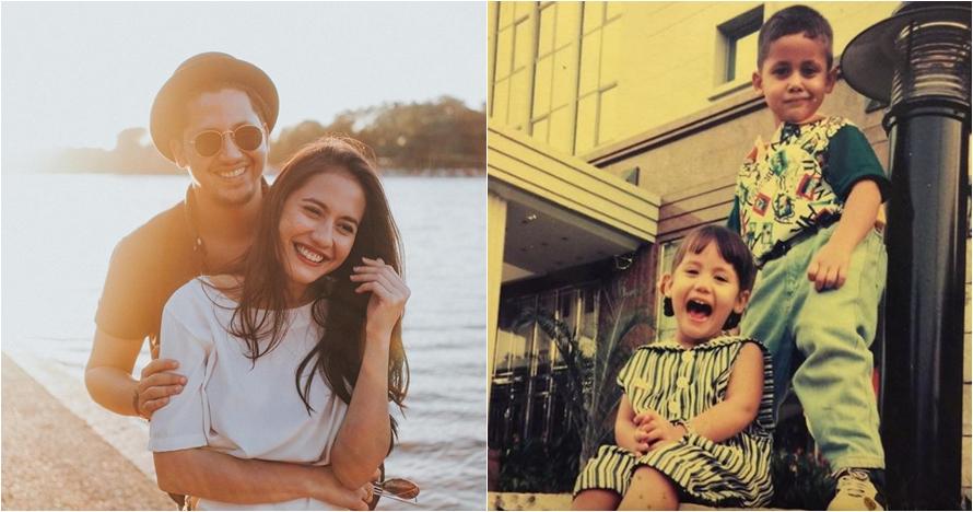15 Foto masa kecil Pevita Pearce dan Keenan Pearce, gemesin abis