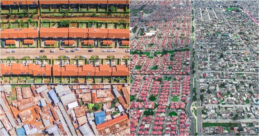 12 Foto permukiman kaya vs miskin di dunia, termasuk Jakarta