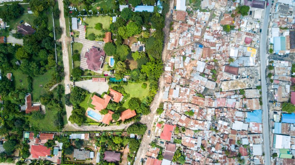 pemukiman kaya vs miskin © 2018 brilio.net berbagai sumber