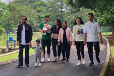 5 Potret keluarga Jokowi tanpa Kaesang Pangarep ini jadi sorotan