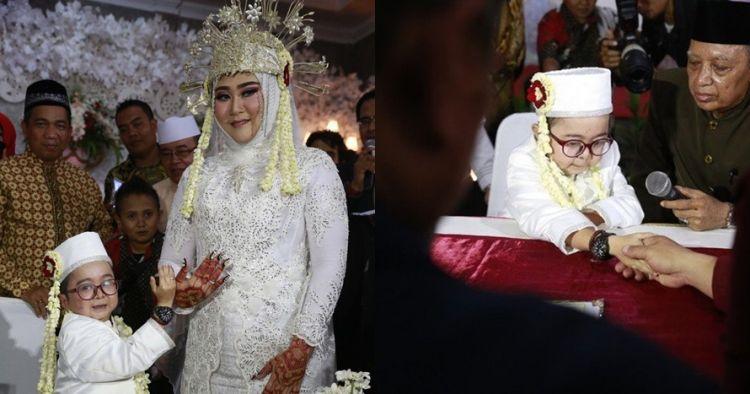 Daus Mini resmi menikah ketiga kalinya, begini momen harunya