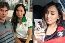 9 Potret cantik Miranda istri Pelatih Persija, bikin terpesona