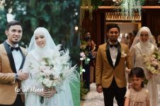 10 Momen haru resepsi pernikahan Lindswell Kwok & Hulaefi