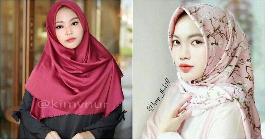 7 Foto editan Blackpink pakai hijab, penampilannya manglingi