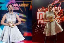 10 Momen bahagia Marion Jola raih penghargaan MAMA 2018