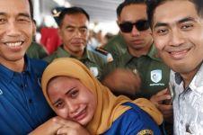 4 Cerita ibu hamil ngidam bertemu Jokowi, ada berurai air mata