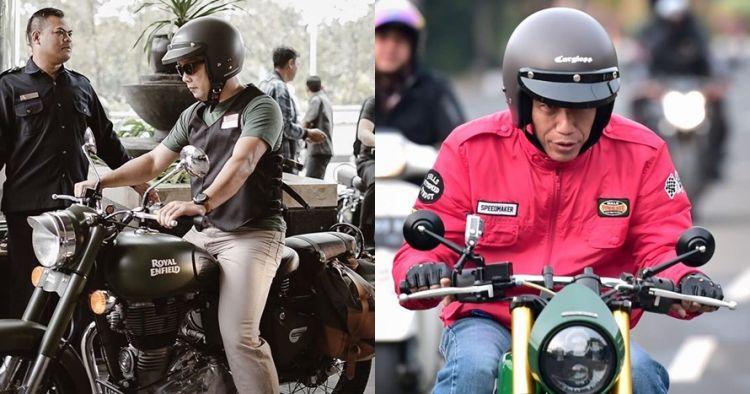 Gaya 6 pejabat & kepala daerah naik motor custom, sangar abis