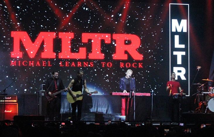 Begini keseruan konser MLTR yang sukses membius penonton