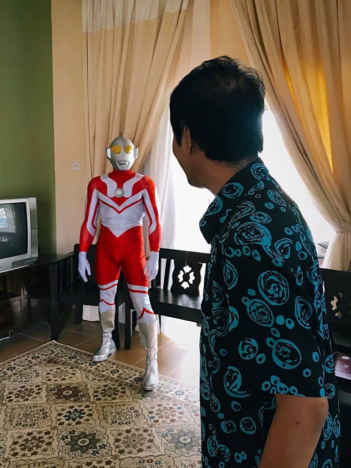Ultraman nyamar facebook