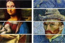 14 Foto kolase lukisan mahal maestro dunia ini bikin takjub