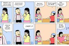 12 Komik strip lucu merayu cewek ini endingnya kocak abis