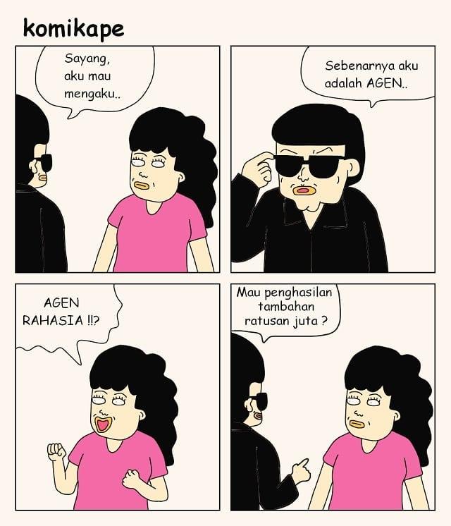 komik merayu © 2018 berbagai sumber