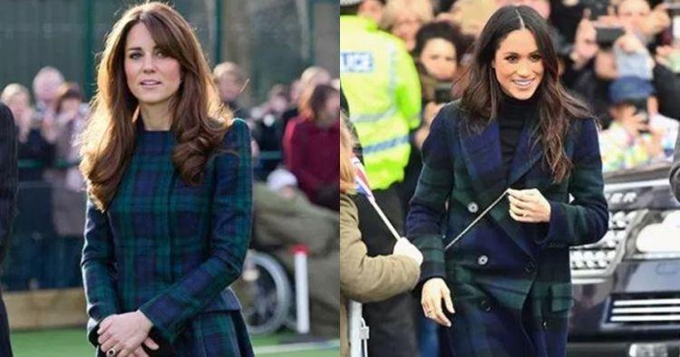 9 Gaya busana Meghan Markle ini mirip Kate Middleton, memesona