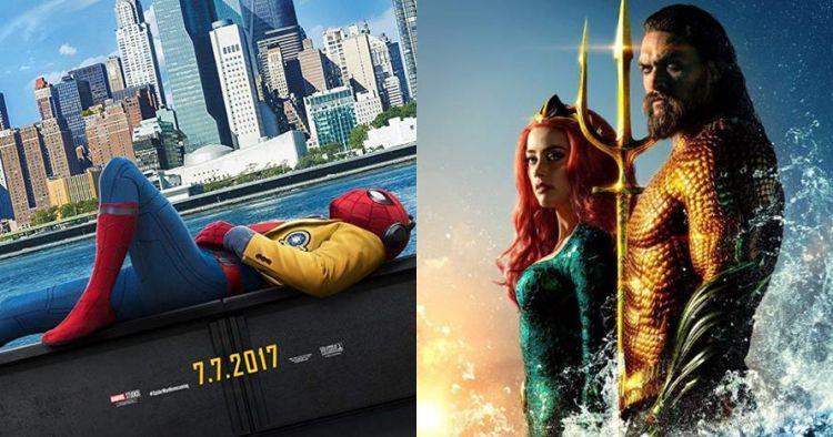 Selain Aquaman, 12 film superhero ini raih Rp 1 T dalam seminggu