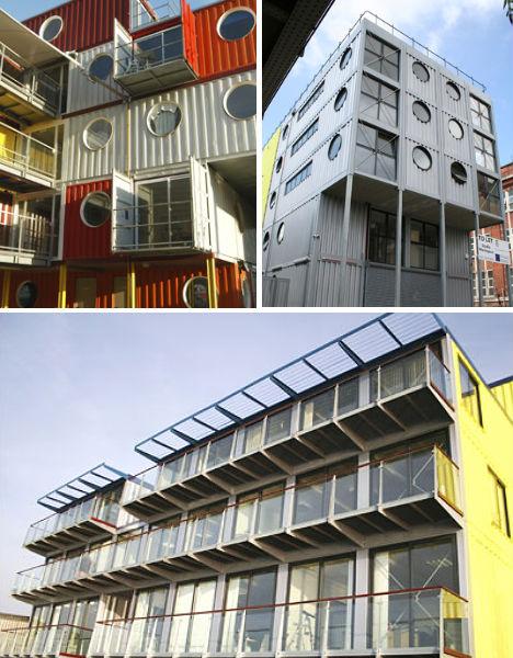bangunan dari kontainer © 2018 brilio.net berbagai sumber