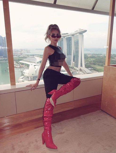 pakaian nyentrik jedar instagram