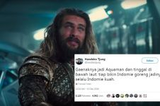 10 Cuitan lucu 'nggak enaknya jadi Aquaman' ini bikin senyum sendiri
