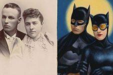 20 Foto klasik disulap menjadi superhero ini kreatif abis
