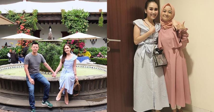 6 Momen Ayu Ting Ting kembaran baju dengan seleb lain