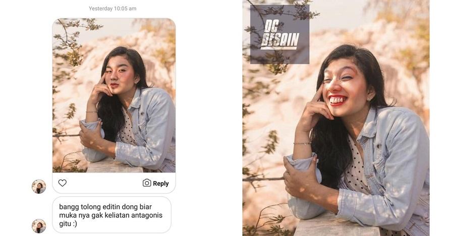 korban editin foto © Instagram/@dc.desain