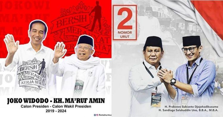 6 Pensiunan jenderal bintang 4 di tim sukses Jokowi & Prabowo