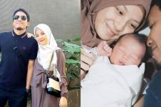 10 Potret imut anak ketiga Desta & Natasha Rizky yang baru lahir