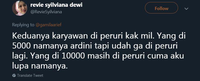 mirip uang 5000 © Twitter