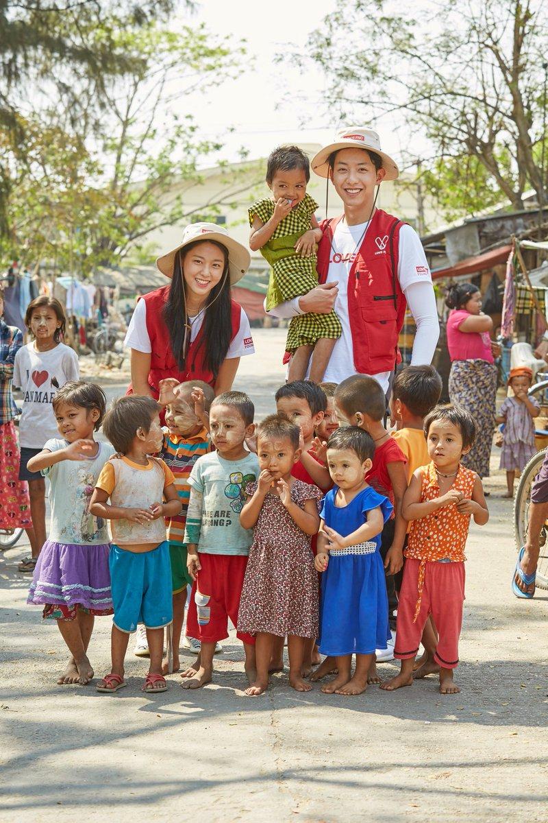 idol Kpop jadi relawan  © 2018 brilio.net