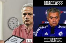 10 Meme lucu Jose Mourinho dipecat dari Manchester United