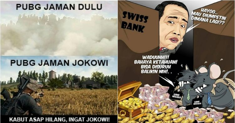 12 Meme Lucu Zaman Jokowi Ini Bikin Makin Cinta Indonesia