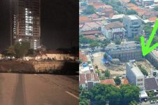 Jalan Gubeng Surabaya ambles tak ada kaitan gempa, ini faktanya