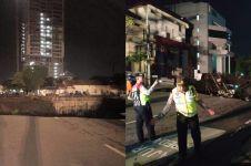 6 Fakta terbaru amblesnya Jalan Gubeng Surabaya