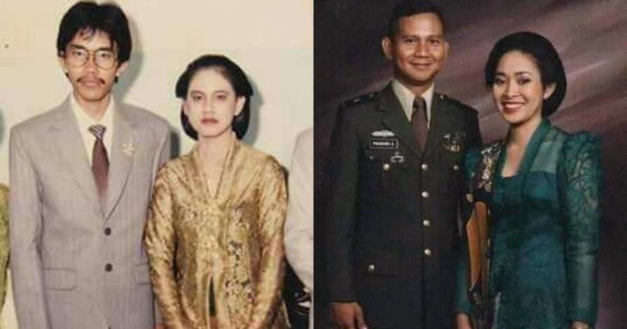 14 Nostalgia romantisme masa muda Jokowi-Iriana & Prabowo-Titiek
