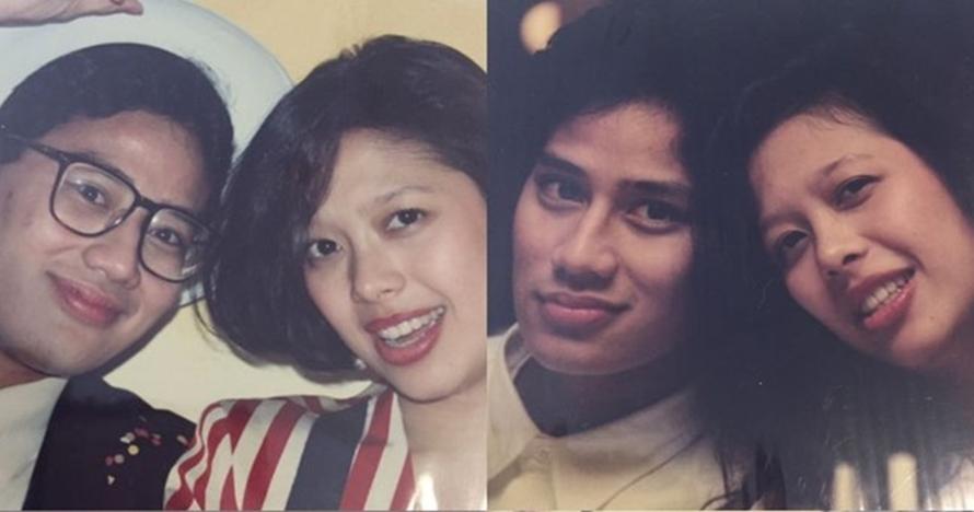 7 Foto masa muda Sandiaga Uno & Nur Asia, gaya rambutnya ikonik