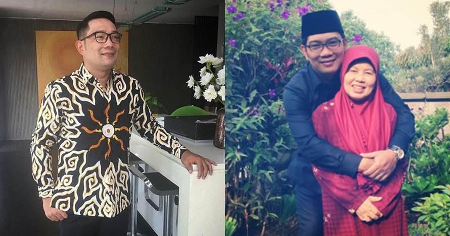 Curhat Ridwan Kamil tentang ibundanya ini bikin melow